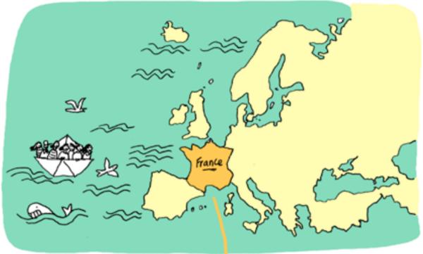 le bateau zapatiste vers la France